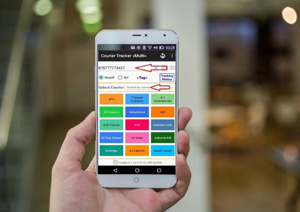 Courier Tracker أفضل تطبيقات تتبع الشحنات