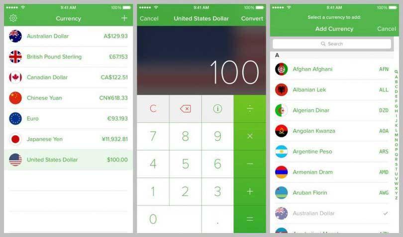 Currency أفضل تطبيقات تحويل العملات