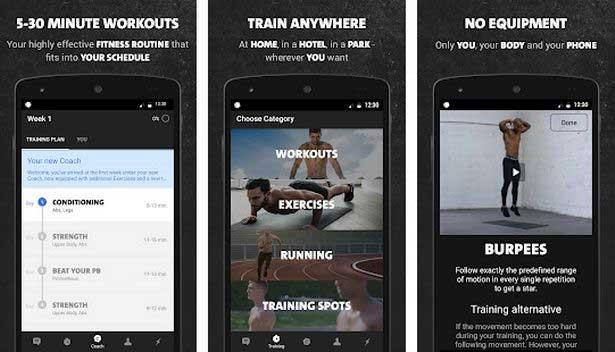 أفضل تطبيقات اللياقة البدنية: Freeletics