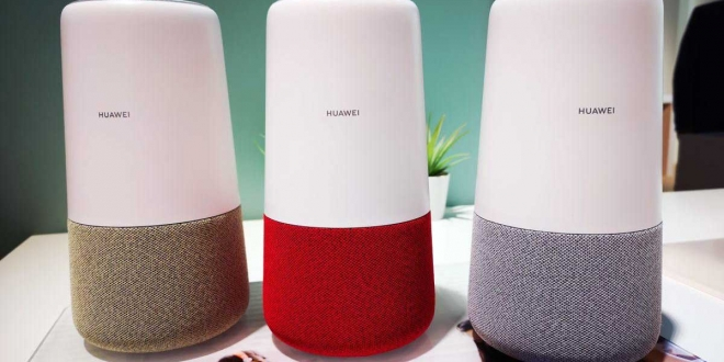 هواوي تكشف عن سماعتها الذكية Huawei AI Cube (تعرف على مميزاتها)