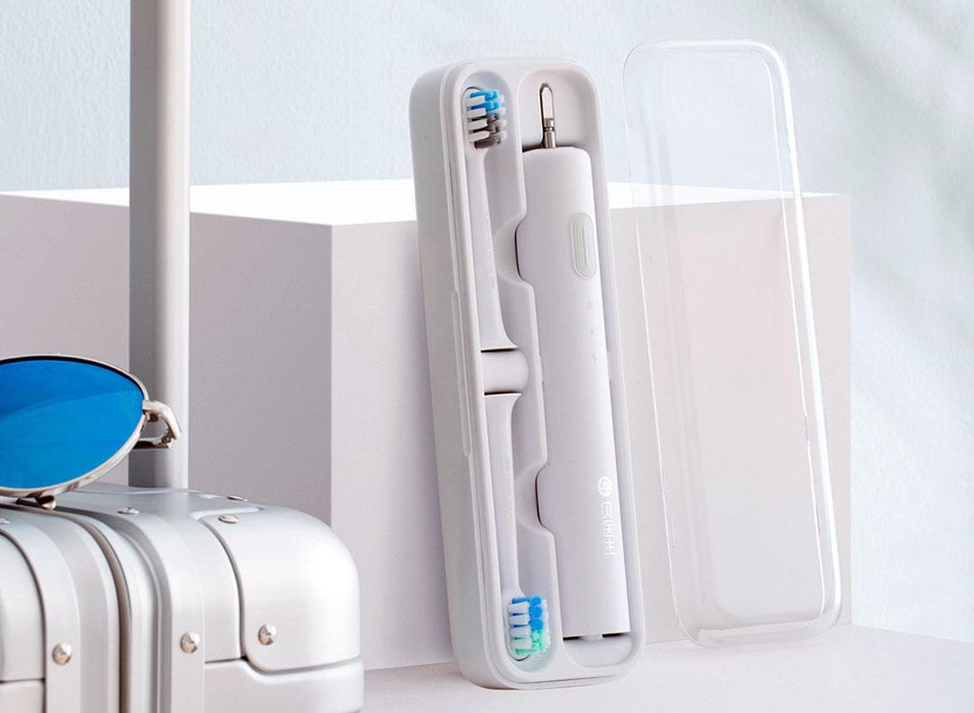 توفر فرشاة شاومي Xiaomi Doctor BET-C01 2 تنظيف أو تلميع أو تبييض الأسنان