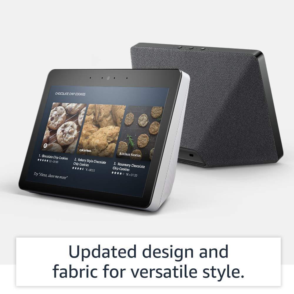 تحملشاشة أمازون Echo Show الذكية الجديدة تصميما جديدا