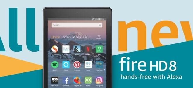 أمازون تكشف عن جيل جديد من تابلت Fire HD 8 فاير اتش دي