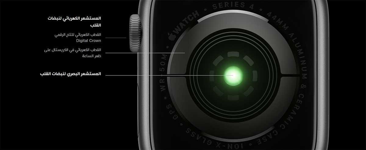 تتيح Apple Watch Series 4 للمستخدمين إجراء مخطط كهربائي للقلب
