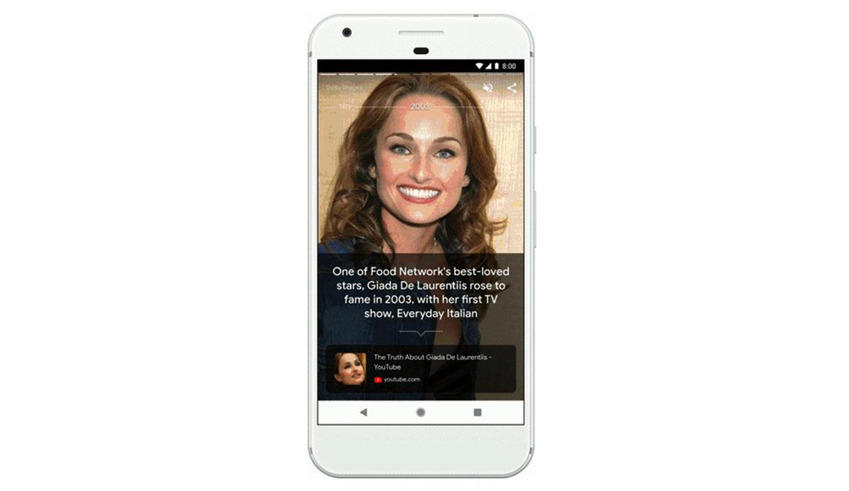 """بحث جوجل - محتوى مرئي من خلال ميزة """"القصص"""""""