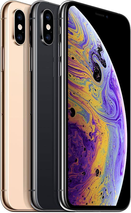 يحمل iPhone XS ايفون اكس اس نفس تصميم الإصدار السابق ايفون X