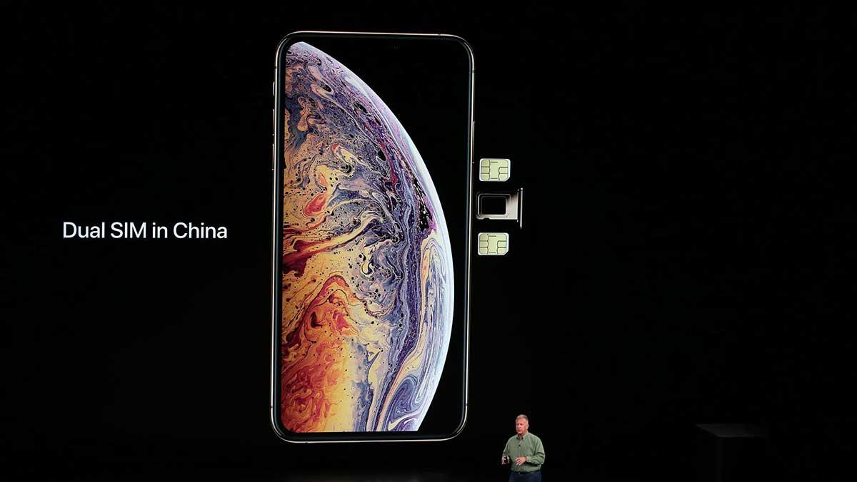 هل يدعم iPhone Xs تشغيل خطين؟