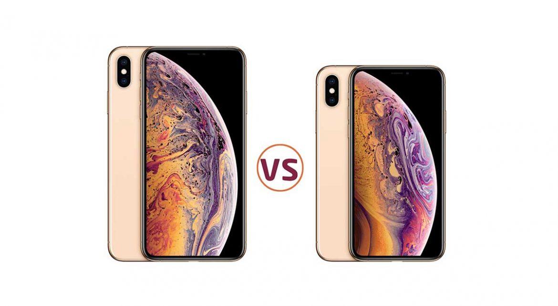 مقارنة بين ايفون Xs وايفون Xs ماكس