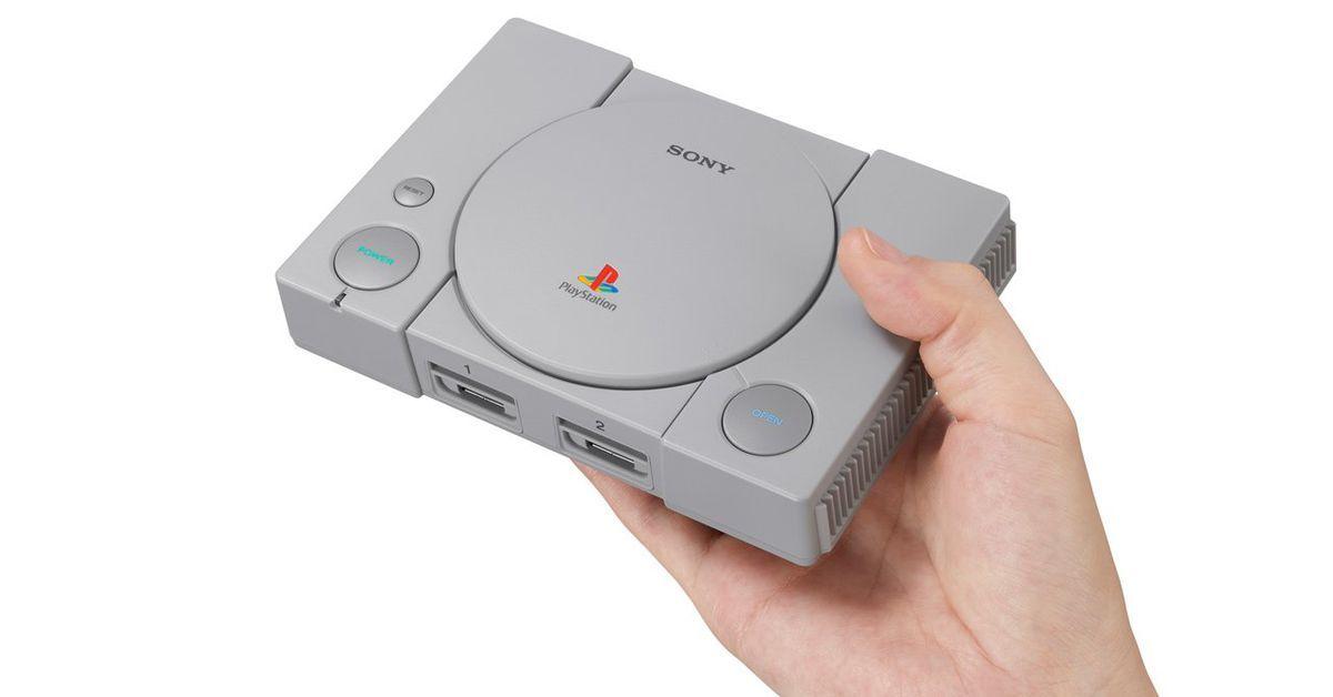 PlayStation Classic: سوني تعيد طرح أول إصدار من بلاي ستيشن للشراء