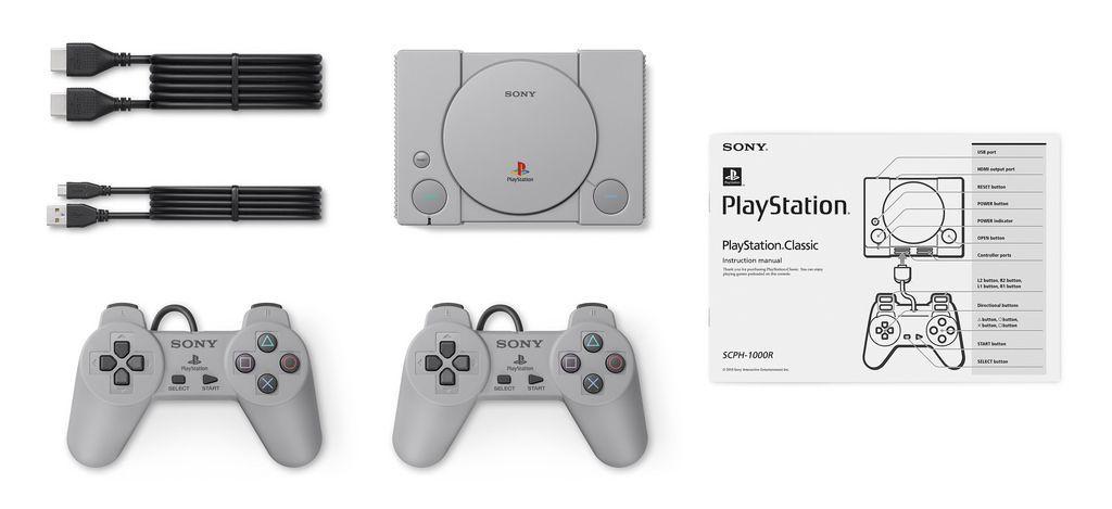 يأتي بلاي ستيشن كلاسيك PlayStation Classic مزودا بـ 20 لعبة