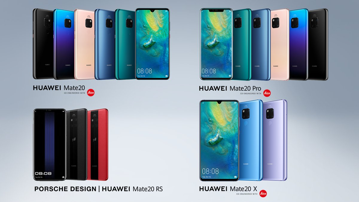 62b25d30c أعلنت شركة هواوي عن سلسلة هواتفها الجديد Mate 20 هذا الأسبوع، والتي تشمل كل  من هواوي ميت 20 وميت 20 برو وميت 20 اكس بالإضافة إلى إصدار خاص بالتعاون مع  بورشه ...