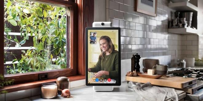 """Facebook Portal """"فيس بوك بورتال"""": شاشة ذكية لمكالمات الفيديو مزودة بأمازون الكسا"""