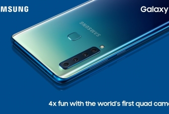Galaxy A9: مواصفات وسعر هاتف سامسونج بأربع كاميرات خلفية