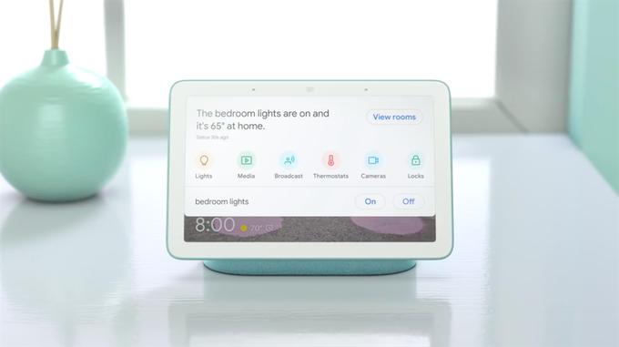 لا تحملGoogle Home Hub لتكون آمنة في المساحات الخاصة في المنزل