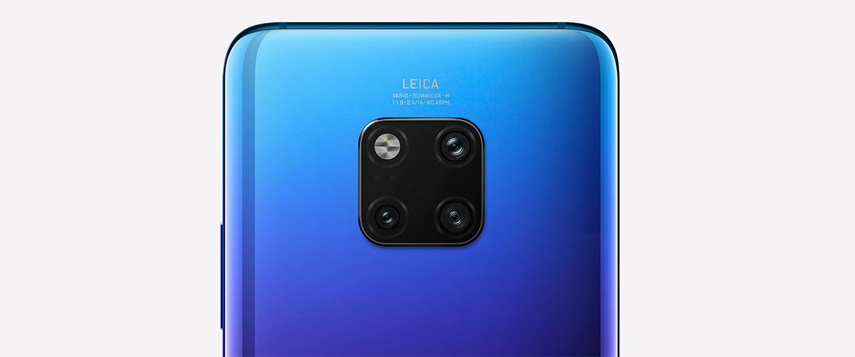 يأتي Huawei Mate 20 Pro مزودا بثلاثة كاميرات خلفية