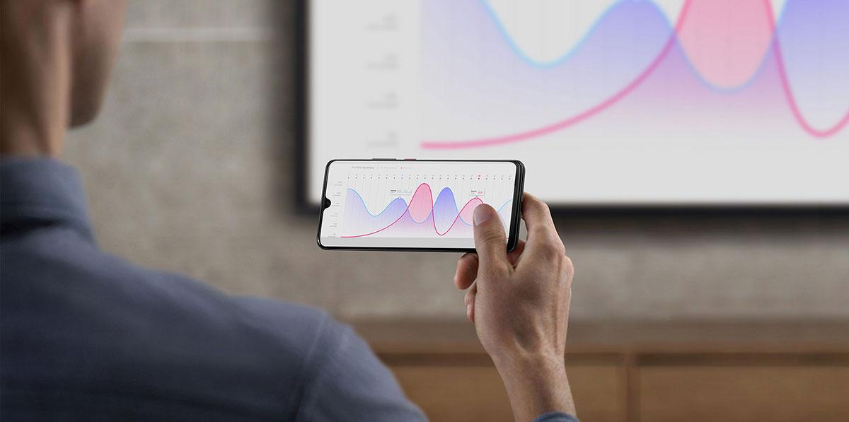 يعمل Huawei Mate 20 هواوي ميت 20 بنظام التشغيل أندرويد 9.0 باي