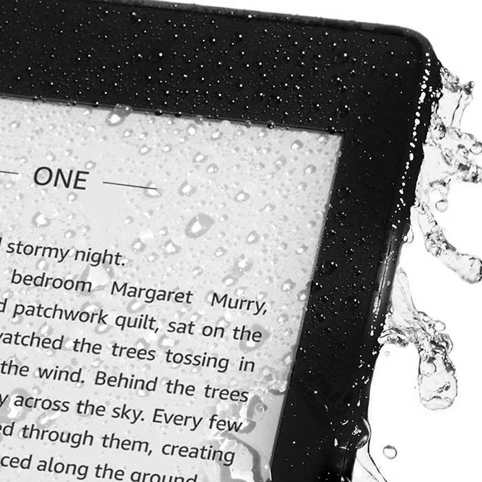 يدعم Kindle Paperwhite 4 مقاومة الماء