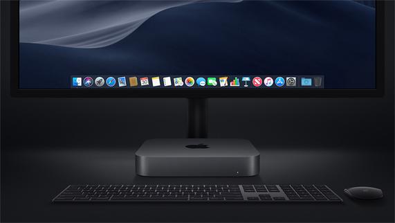 صنعت آبل Mac Mini 2018 من المونيوم معاد تدويره