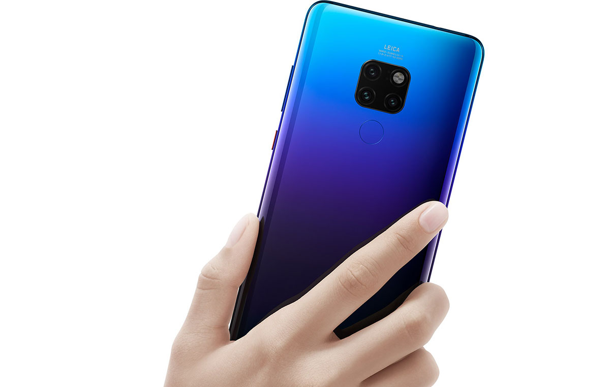 زودت هواوي هاتفها الجديد Huawei Mate 20 بمعالج Kirin 980