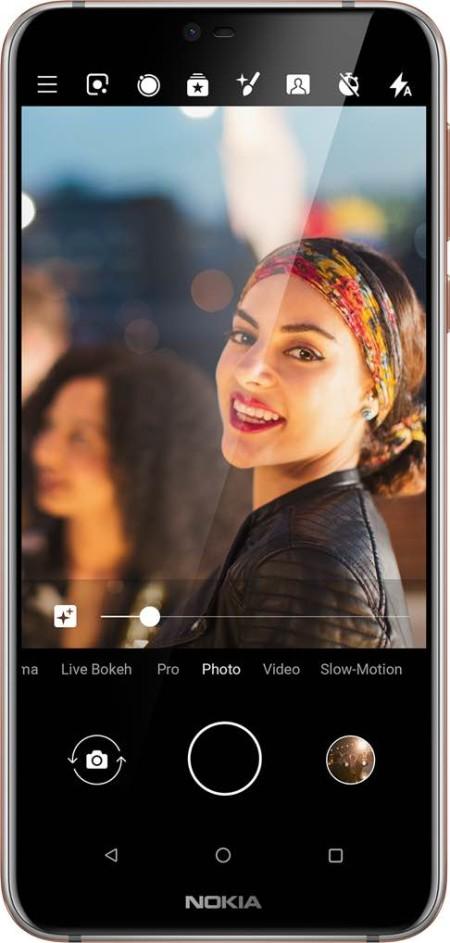 الكاميرا في Nokia 7.1