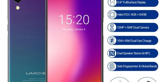 خصومات كبيرة على هواتف UMIDIGI من متجر AliExpress
