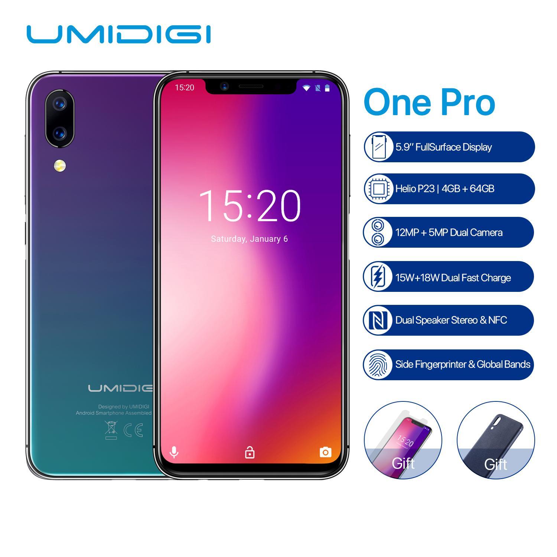 يأتي UMIDIGI One Pro بشاشة أكبر قياسها 5.9 بوصة