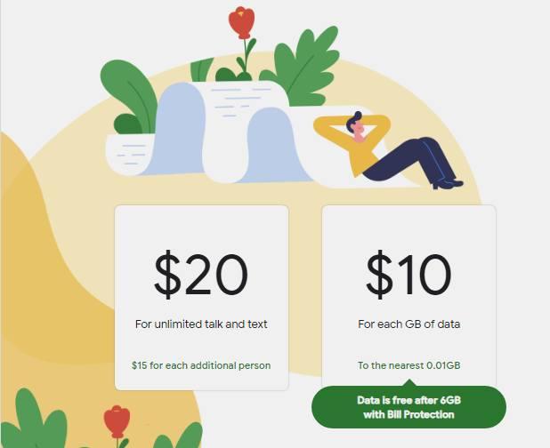 أسعار Google Fi جوجل فاي