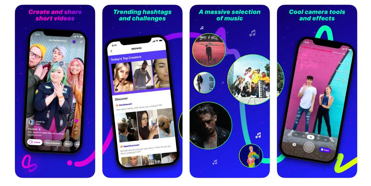 يتيح تطبيق Lasso للمستخدمين نشر مقاطع فيديو قصيرة