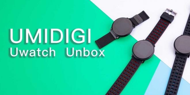 UMIDIGI Uwatch: ساعة يد ذكية جديدة بتصمم مميز وسعر منخفض