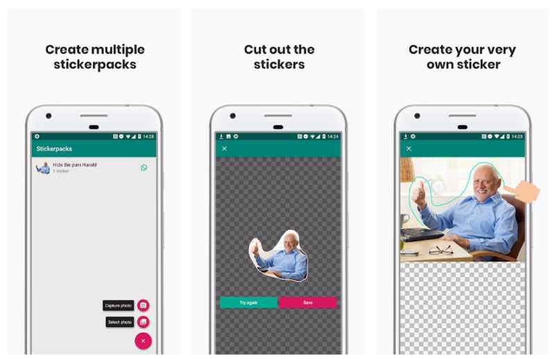 يمكن لمستخدمي Sticker Studio إنشاء ملصقات واتساب من أي صورة