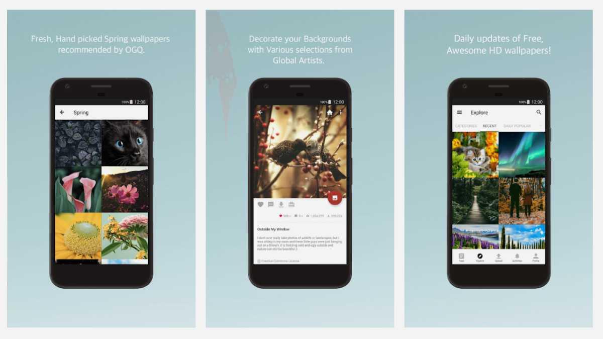 Backgrounds HD (Wallpapers) أفضل تطبيقات تحميل الخلفيات لأندرويد