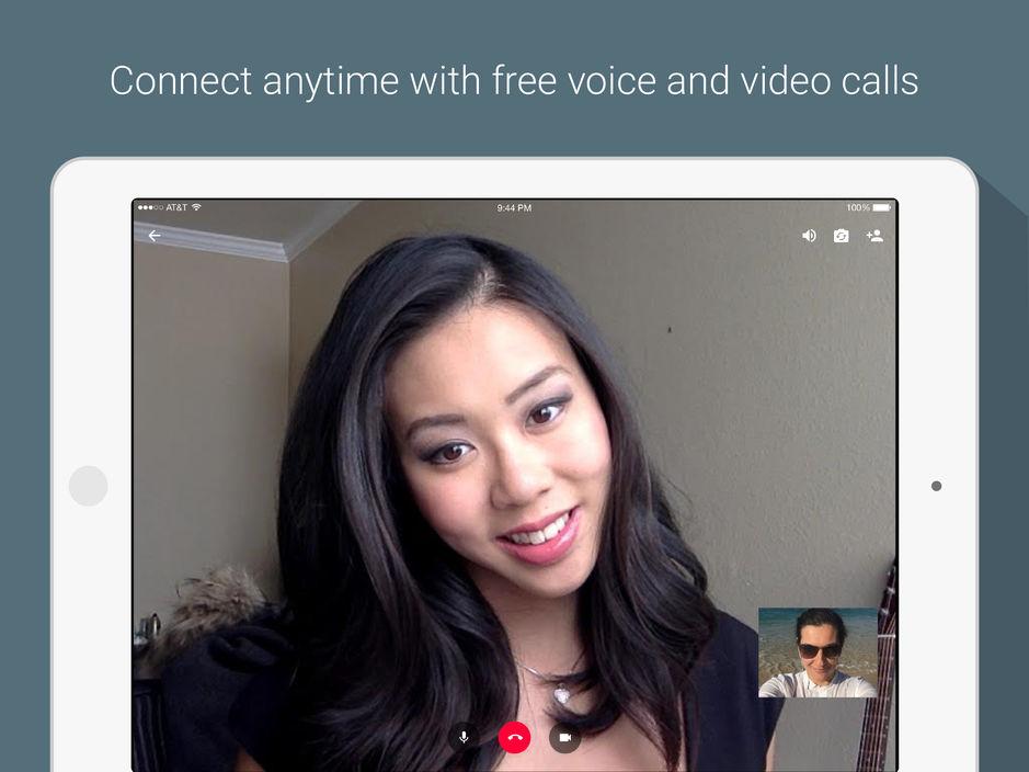 أفضل تطبيقات الاجتماعات المجانية لايفون واندرويد - Hangouts