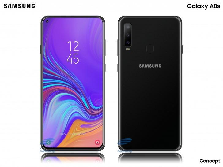 Galaxy A8s: مواصفات هاتف سامسونج بكاميرا مدمجة في الشاشة