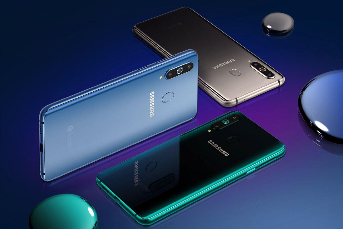 Galaxy A8s هو أول هاتف ذكي من سامسونج بدون منفذ تقليدي للسماعات