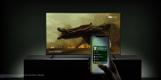 تلفزيونات سامسونج الذكية تدعم iTunes وميزة AirPlay 2