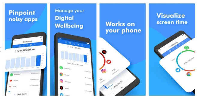 ActionDash: تطبيق لمراقبة الوقت الذي تقضيه في استخدام التطبيقات المختلفة