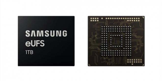 سامسونج أول ذاكرة تخزينية للهواتف الذكية بسعة 1 تيرابايت