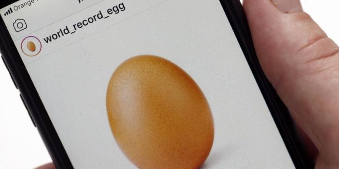 قصة بيضة انستجرام التي نجحت في تحدي كايلي جينر