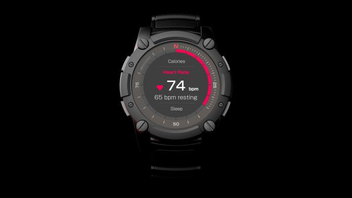 تدعم ساعة ماتريكس PowerWatch 2 الذكية الجديدة أيضا العمل بالاعتماد على حرارة الجسم المنبعثة من المعصم