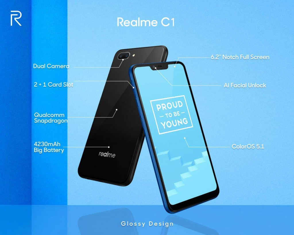 مواصفات Realme C1 ريلمي سي1