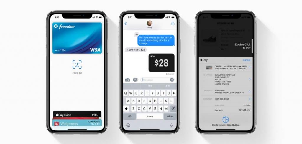 مميزات ابل باي Apple Pay