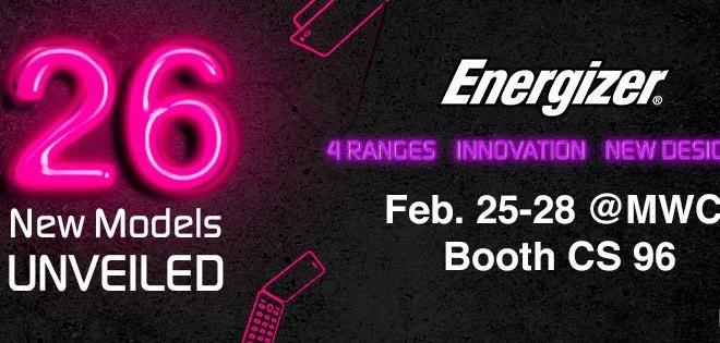 Energizer تخطط للكشف عن 26 هاتف ذكي ببطارية عملاقة