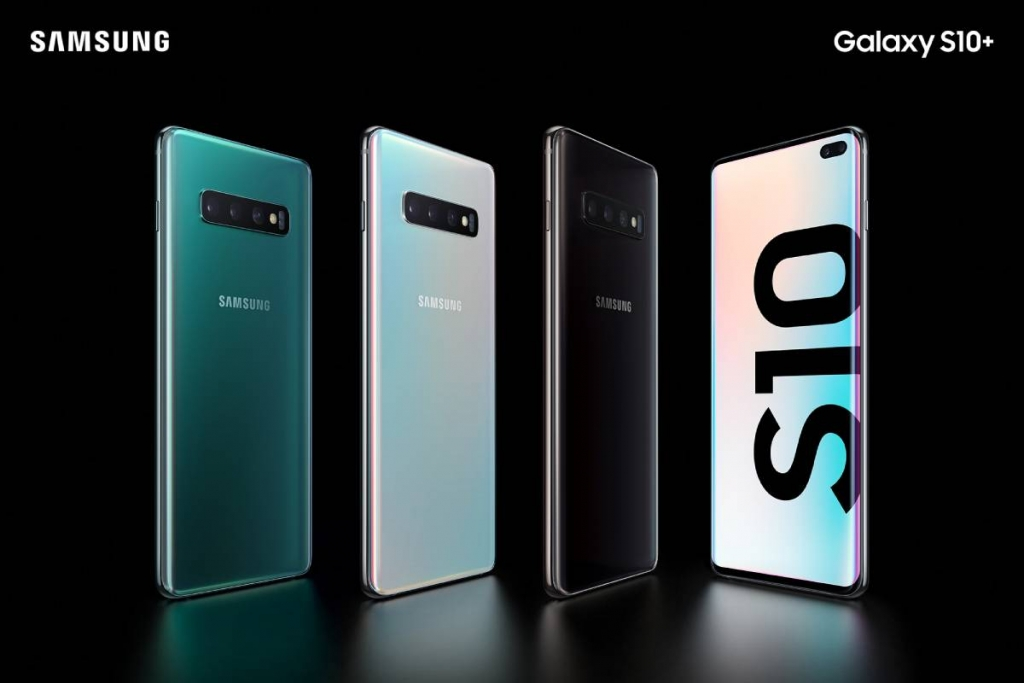 الوان Galaxy S10 Plus جالاكسي اس 10