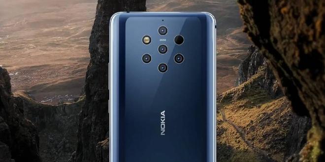 Nokia 9 PureView نوكيا 9 بيورفيو: مواصفات وسعر الهاتف بخمسة كاميرات خلفية