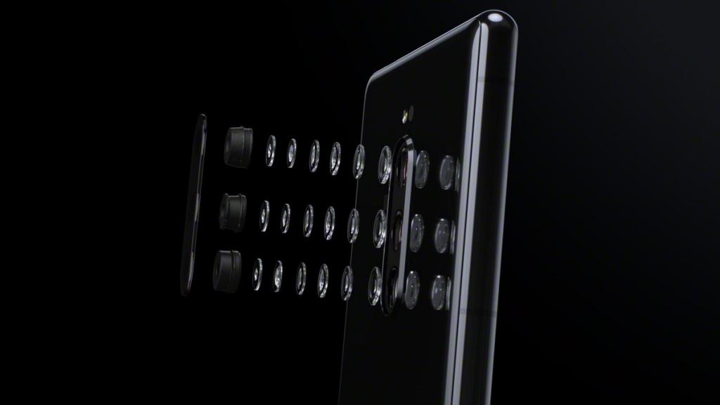 زودت سوني هاتفها الذكي الجديد Xperia 1 اكسبيريا 1 بثلاثة كاميرات خلفية