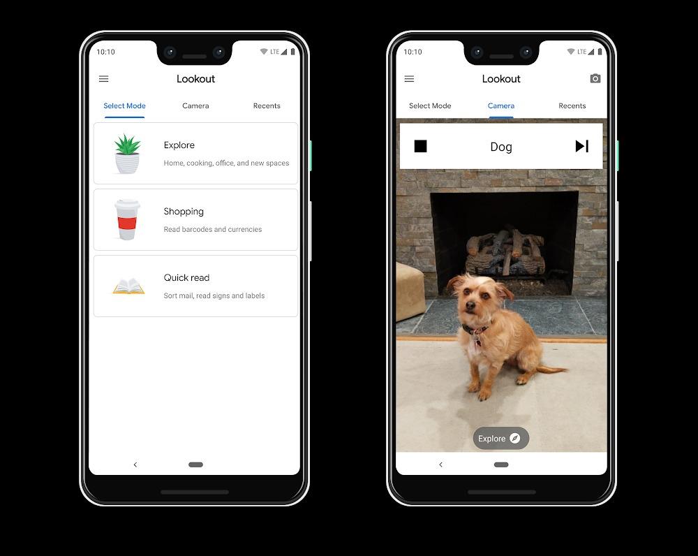 Lookout: تطبيق من جوجل يساعد المكفوفين في التعرف على الأشياء حولهم