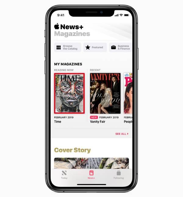 تتوفر خدمة ابل نيوز بلس في تبويب ضمن تطبيق Apple News نفسه