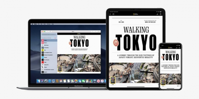 Apple News Plus ابل نيوز بلس: خدمة جديدة من آبل لتصفح أكثر من 300 مجلة