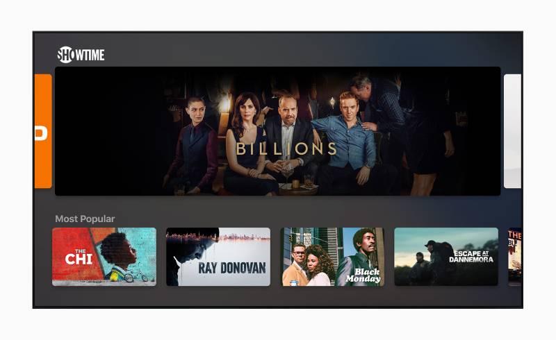 تصميم جديدا كليا لتطبيق Apple Tv