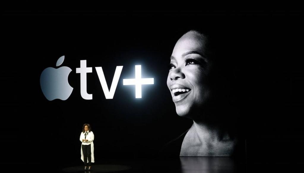 "Apple Tv Plus ""ابل تي في بلس"""